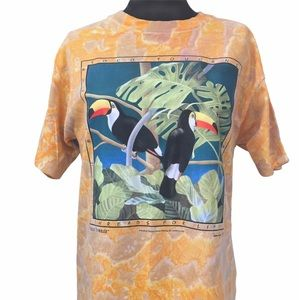 Vintage 90s Nature Treads Toco Toucans Unisex Tee